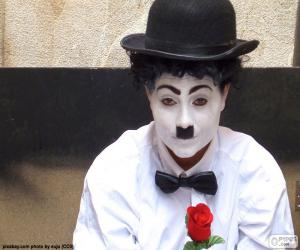 Charlie Chaplin-Imitator puzzle