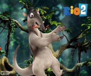 Charlie, ein Ameisenbär, Tanz Steptanz, Rio 2 puzzle
