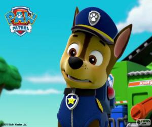 Chase, Paw Patrol puzzle