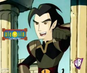 Chase Young, mächtigen Feind der Xiaolin Krieger puzzle