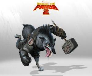 Chef Wolf, den treuesten Diener Shen, ein großer militärischer Stratege und sein treuer rechten Fuß puzzle