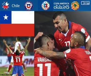 CHI finalist, Copa America 2015 puzzle