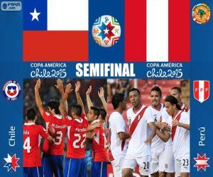 CHI - PER, Copa America 2015 puzzle