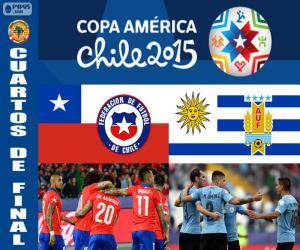 CHI - URU, Copa America 2015 puzzle