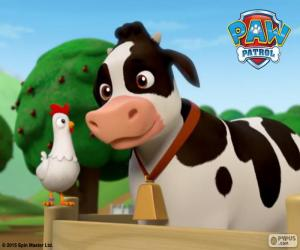 Chickaletta und Bettina, PAW Patrol puzzle