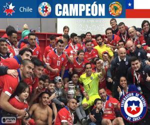 Chile, Copa America 2015 Meister puzzle