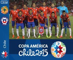 Chile Copa America 2015 puzzle