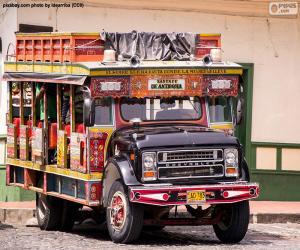 Chiva-bus puzzle