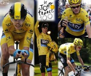 Chris Froome, Tour de France 2013 puzzle