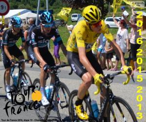 Chris Froome, Tour de France 2016 puzzle