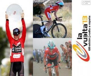 Chris Horner Meister der Tour von Spanien 2013 puzzle