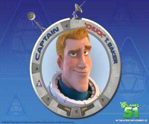 Chuck Kind, ein Astronaut zu träumen, er ist mutig, schön und sicher, von sich selbst puzzle
