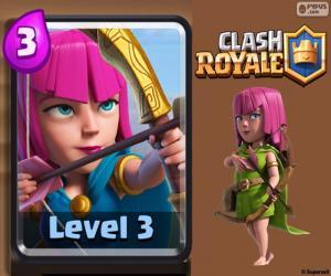Clash Royale Bogenschützen puzzle