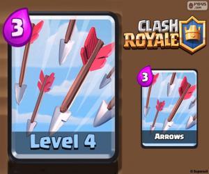 Clash Royale Pfeile puzzle