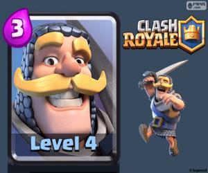 Clash Royale Ritter puzzle