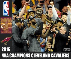 Cleveland Cavaliers, 2016 NBA Meisters puzzle