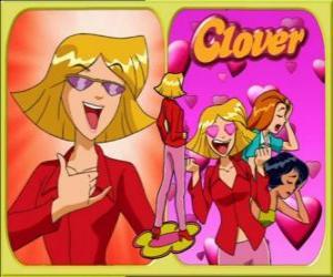 Clover ist das lustig Spionin puzzle