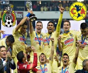 Club America, Meister Apertura Mexico 2014 puzzle