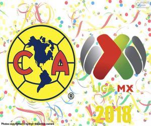 Club America, Meister der Apertura 2018 puzzle