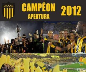 Club Atlético Peñarol champion der Torneo Apertura 2012, Uruguay puzzle