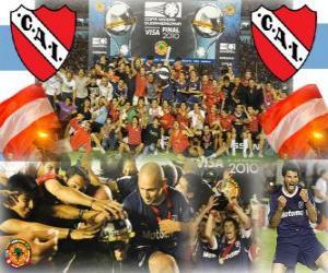 Club Atlético Independiente IX Champion 2010 Copa Sudamericana puzzle