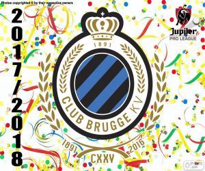 Club Brugge KV Pro League 2017-2018 puzzle