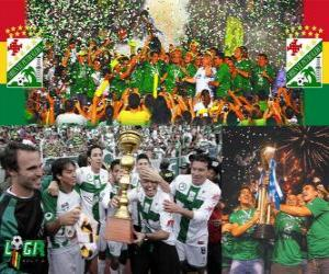 Club Deportivo Oriente Petrolero Clausura-Champion 2010 (Bolivien) puzzle