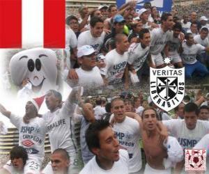 Club Deportivo Universidad San Martin de Porres Dezentrale Meisterschaft Champion 2010 (PERU) puzzle