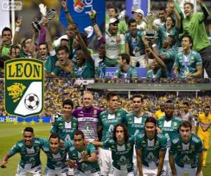 Club León F.C., Meister Apertura Mexico 2013 puzzle