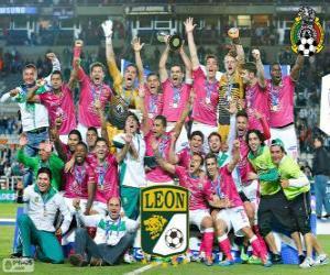 Club León F.C., Meister Clausura Mexiko 2014 puzzle
