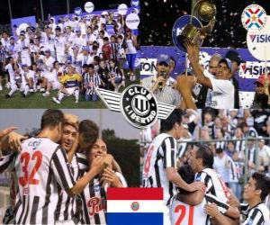 Club Libertad Champion Clausura 2010 (Paraguay) puzzle