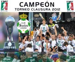 Club Santos Laguna, Meister Clausura Mexiko 2012 puzzle