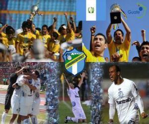 Club Social y Deportivo Comunicaciones Meister der Apertura 2010 (Guatemala) puzzle