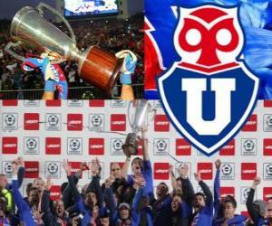 Club Universidad de Chile, Chilenischer Meister Apertura 2012 puzzle