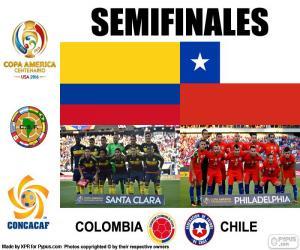 COL-CHI, Copa America 2016 puzzle