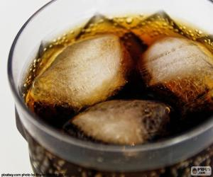 Cola mit Eis puzzle