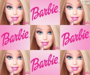 Collage von Barbie puzzle