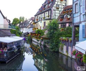 Colmar, Frankreich puzzle