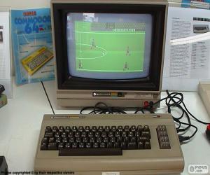 Commodore 64 (1982) puzzle