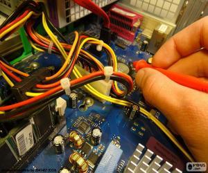Computer-Reparatur puzzle
