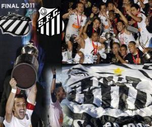 Copa Libertadores 2011 Meister FC Santos puzzle