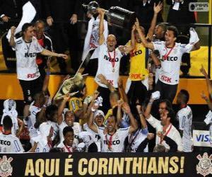 Corinthians / Timão, Copa Libertadores 2012 Meister puzzle