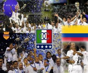 Corporación Deportiva Once Caldas Postobon League Champion 2010 (Kolumbien) puzzle