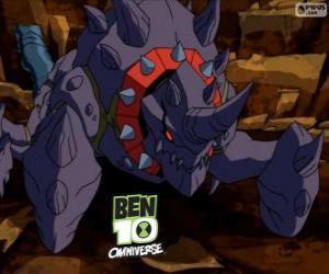 Crabdozer ist ein Alien Nemetrix, Ben 10 Omniverse puzzle