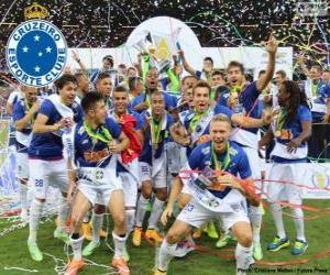 Cruzeiro Belo Horizonte Weltmeister 2014 puzzle