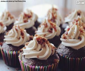 Cupcakes mit Zuckerguss puzzle