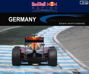 D. Ricciardo, GP von Deutschland 2016 puzzle