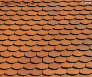 Dach eines Hauses puzzle
