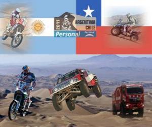 Dakar 2011 Argentina Chile puzzle