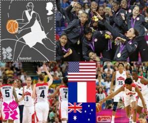 Damen Basketball London 2012 puzzle